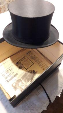 Ancien Chapeau Haut de forme