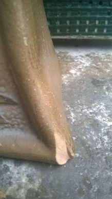 Buste en terre cuite signé le Fouché