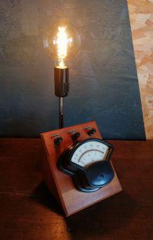 """Lampe industrielle, lampe vintage """"Sous Tension"""""""
