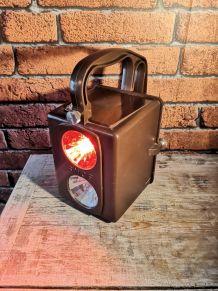 Lampe à poser industrielle sncf