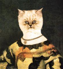 Portrait numérique de votre animal, portrait Vélazquez .