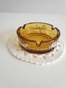 Cendrier ambré St Raphaël - Vintage français