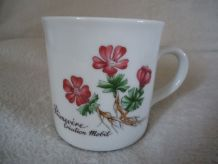 6 Mugs vintage Egypte, Mobil, Porto, 1989,Corse