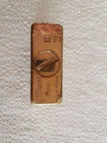 Briquet de luxe plaqué or S.T. DUPONT  Made in France vintag