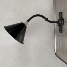ANCIENNE PETITE LAMPE POTENCE INDUSTRIELLE