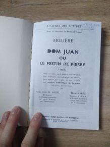 Livre - Dom Juan