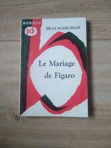 Livre - Le Mariage de Figaro