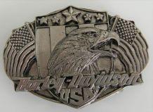 Boucle ceinture Harley Davidson vintage 1989 Oregon
