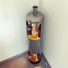 Bouteille gaz bar