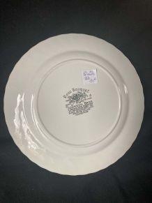 10 Assiettes Plates - Johson Bros