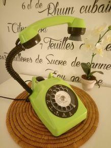 LAMPE À POSER RÉCUP' TÉLÉPHONE VINTAGE'83