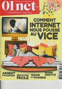 Lot de 10 magazines 01net