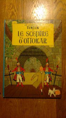 Les Aventures De Tintin Tome 8 - Le Sceptre D'ottokar.