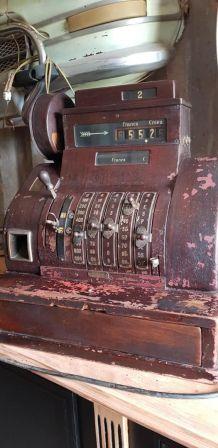 Caisse enregistreuse début 1900