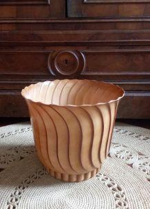 Grand cache pot vintage (Plastilex)