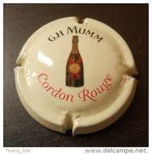 Capsule Champagne GH. MUMM -