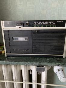 Radio cassettes année 70-80