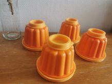 4 x moules à flan vintage Guardini
