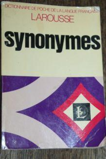 Synonymes - Dictionnaire de poche de la langue française - G