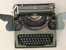 Machine à écrire portable vintage Rooy