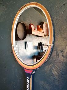 "Miroir, raquette miroir, raquette tennis - ""Donnay Björn Bor"