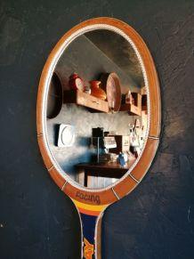 "Miroir, raquette miroir, raquette tennis - ""Donnay Racing"""