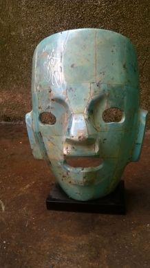 Masque  ceremoniel Mexicain