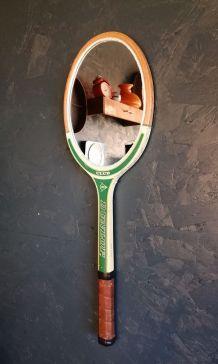 "Miroir, raquette miroir, raquette tennis - ""Dunlop Club"""