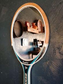"""Miroir, raquette miroir, raquette tennis - """"Dunlop Saphir"""""""