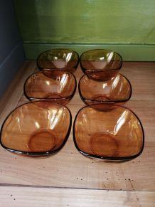 6 coupelles Vereco