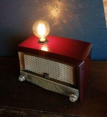 "Lampe industrielle, lampe vintage - ""Radiola"""