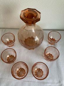 Service à liqueur vintage