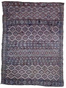 Tapis ancien Marocain Berber fait main, 1P53
