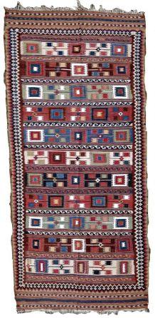 Tapis ancien Marocain Berber fait main, 1P56
