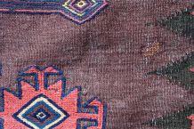 Tapis ancien Afghan Baluch fait main, 1P57