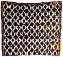 Tapis ancien Marocain Berber fait main, 1P58