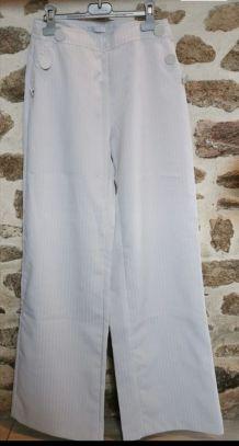 Pantalon ample femme