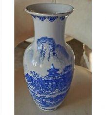 Vase porcelaine chinoise