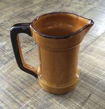 Pichet vieille mesure céramique Drôme années 60/70