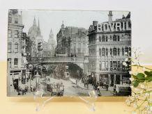 Photographie Londres pressée sous verre et carton - Fin XIXè