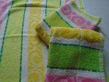 3 serviettes de toilette