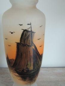 Vase Art déco Signé