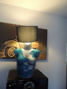 Lampe Buste Originale