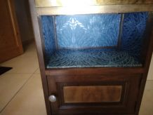 Table chevet vintage année 50 relookée