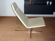 fauteuil lounge haut de gamme avec repose pied