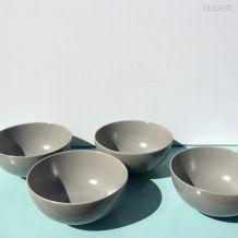 4 bols en grès