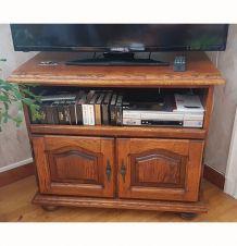 Meuble télé avec plateau pivotant