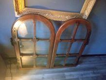 Paire de portes buffet type médiéval