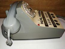 Ancien Téléphone à Standard de collection CIT Rétro Vintage