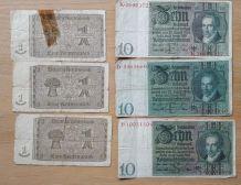 Billets de banque Allemand